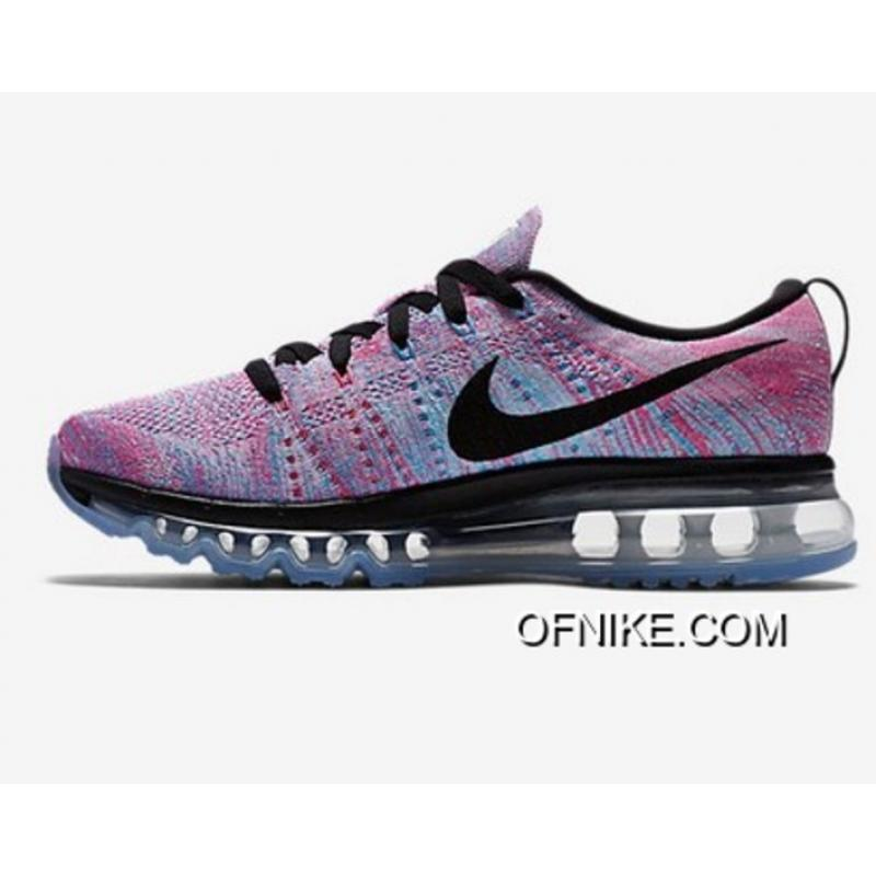 39b9a655bb Discount Nike Flyknit AirMax Purple Black Blue, Price: $69.54 - Air ...