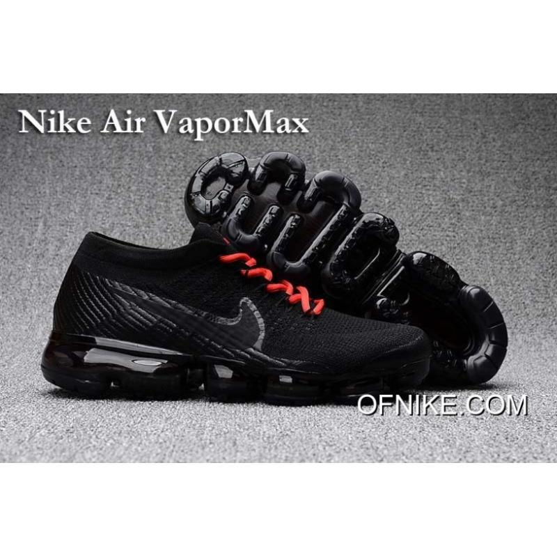 bd61033361abc Free Shipping Nike Air Vapormax Black Red Shoes, Price: $95.45 - Air ...